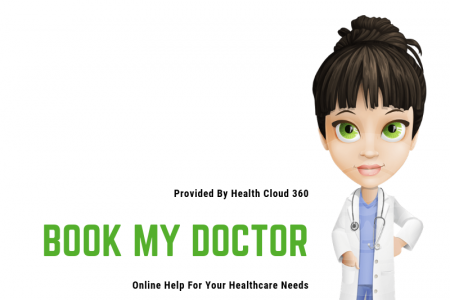 Book My Doctor: Hope for You Online Care Infographic