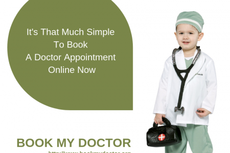 Book My Doctor: The Smart Healthcare Service Infographic