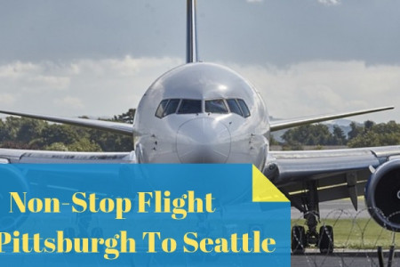 Book your Non-Stop Flight from Pittsburgh To Seattle Infographic