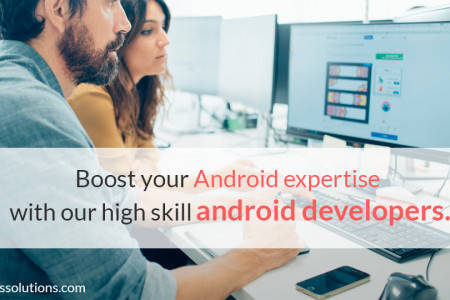 Boost your Android expertise with our high skill Android Developers Infographic