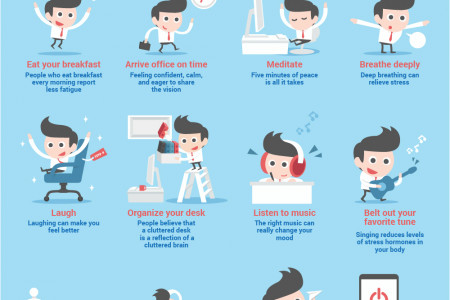 BOOST YOUR CREATIVITY AT WORK Infographic