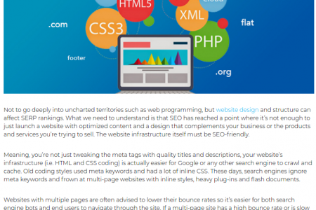 Boost Your Web Based Business By just Just Avoiding These Bad SEO practices Infographic