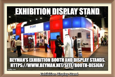 Booth Design Agency for Middle East Exhibition Infographic