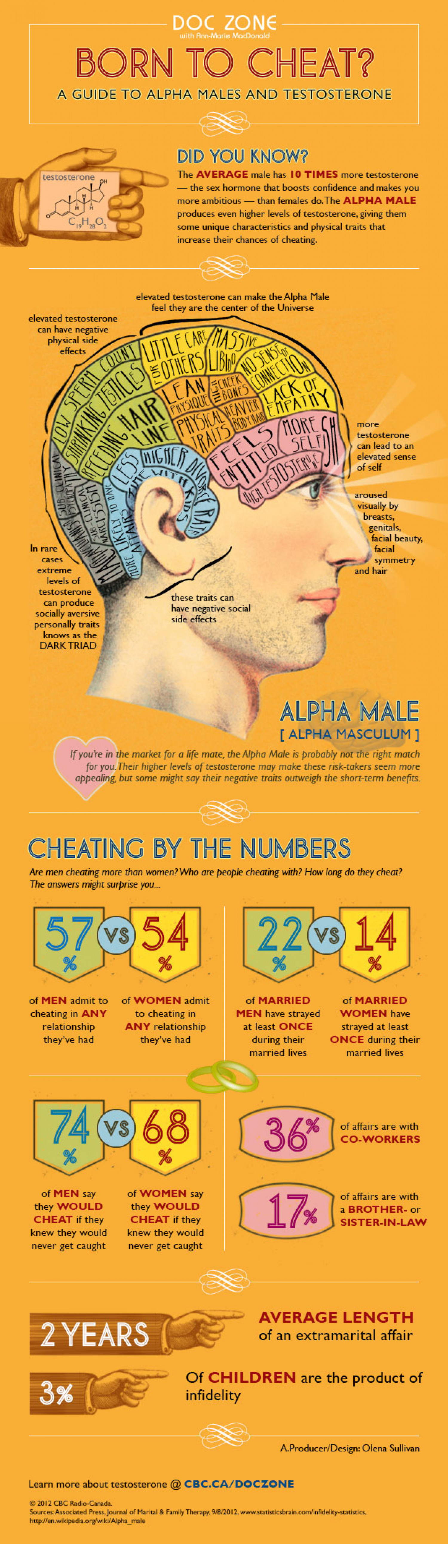 Born to Cheat? Infographic
