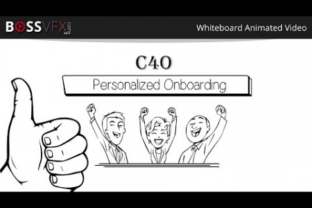 Whiteboard Animation C40 Infographic