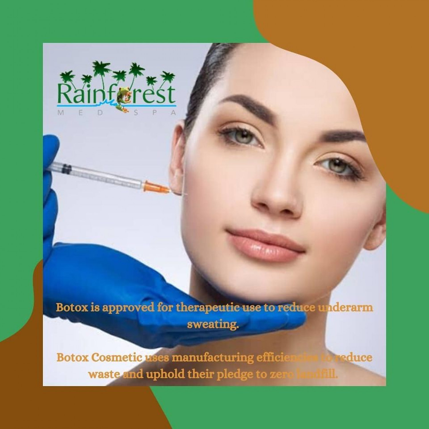 Botox cosmetic approved for several treatment | Rainfoestmedspa Infographic