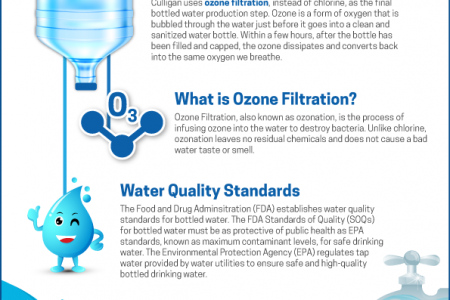 Bottled Water Benefits Infographic