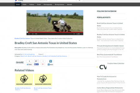 Bradley Croft San Antonio Texas in United States - CVC Infographic