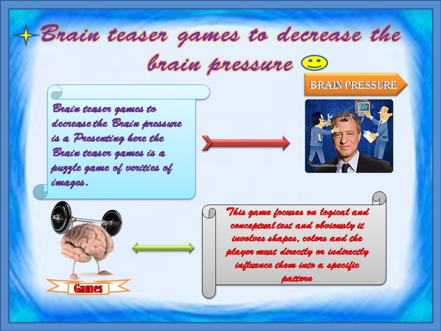 Visual Brain Teaser Brain teaser games to decrease the brain pressure ...