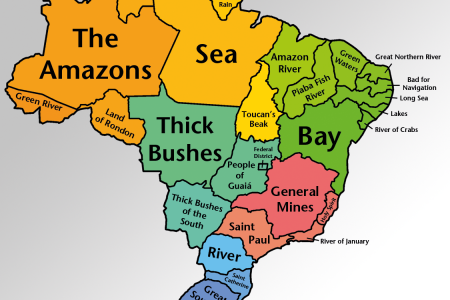 Brazilian State Names Translated Infographic