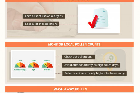 Breathing Easy: How to Help Seniors Survive Allergy Season Infographic