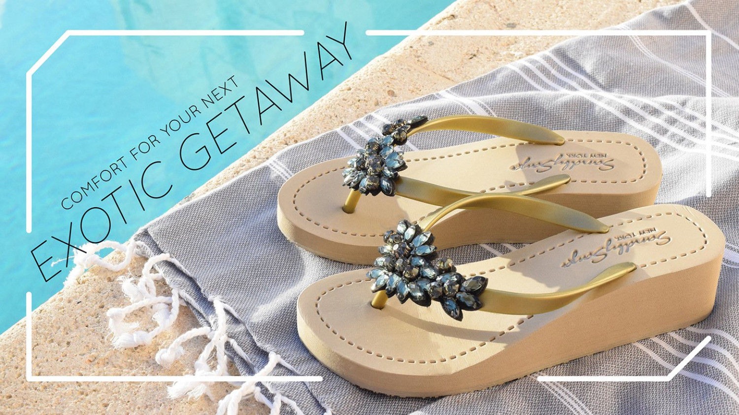 Bridal Wedge Sandals Infographic