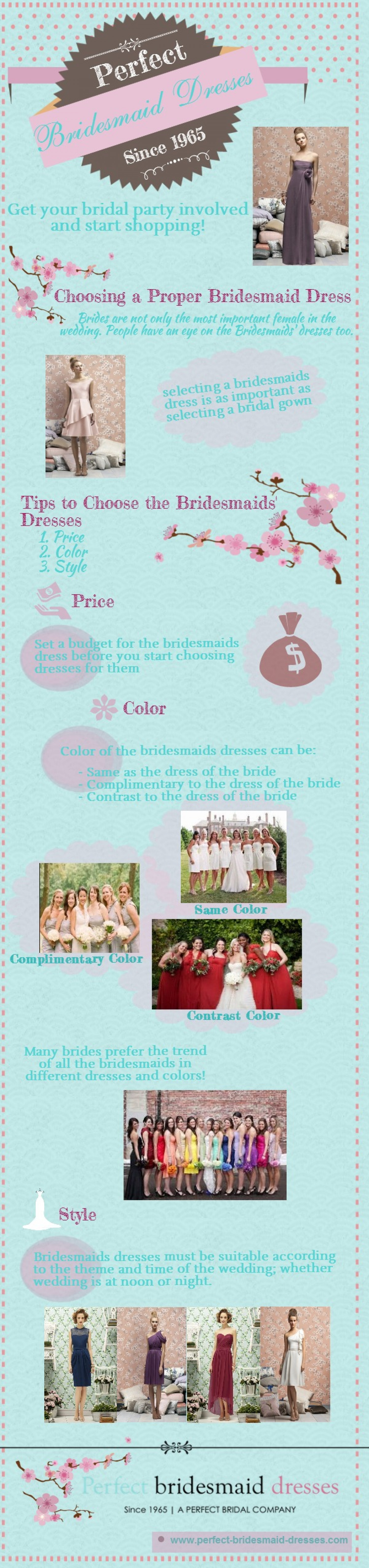 Perfect Bridal Dresses Infographic