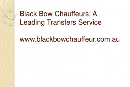 Brisbane airport pickup and drop off services by Black Bow chauffeur Infographic