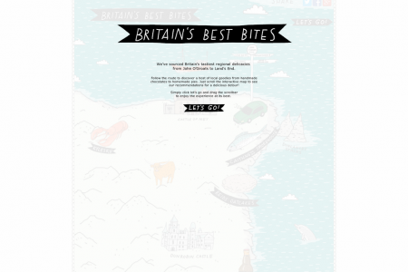 Britain's Best Bites Infographic