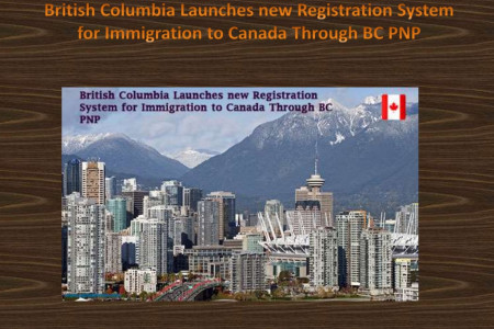 British Columbia Launches new Registration System for Immigration to Canada Through BC PNP Infographic