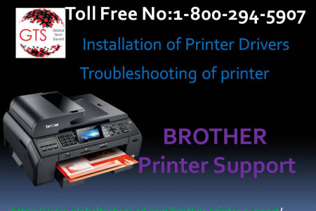 Brother Printer Easy support Dial:(800) 294-5907 Infographic