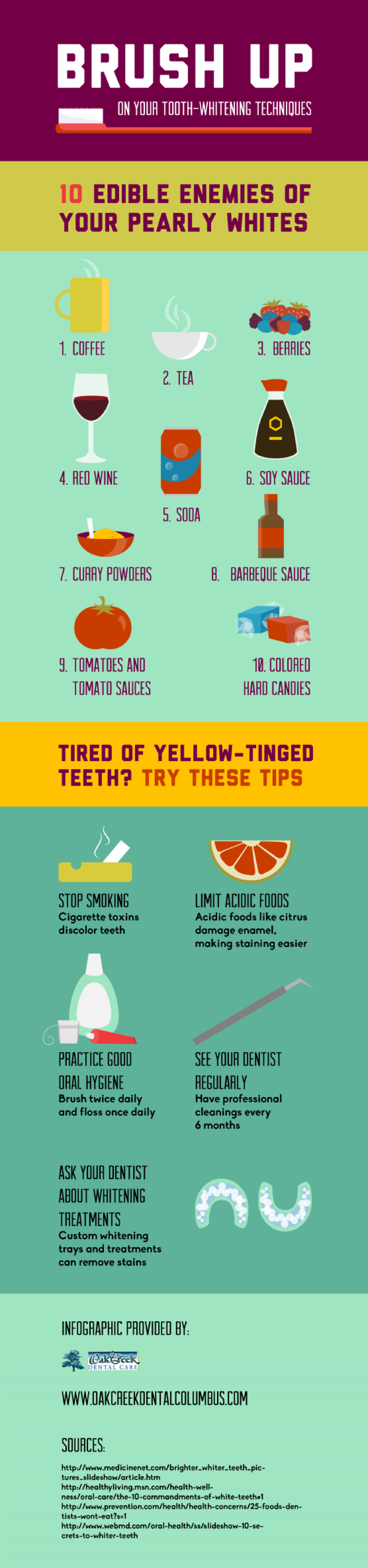 Brush Up on Your Tooth-Whitening Techniques  Infographic