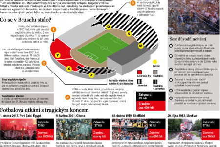 Brussel stadium disaster Infographic