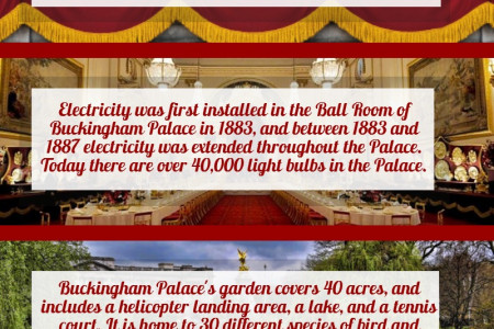 Buckingham Palace Facts Infographic