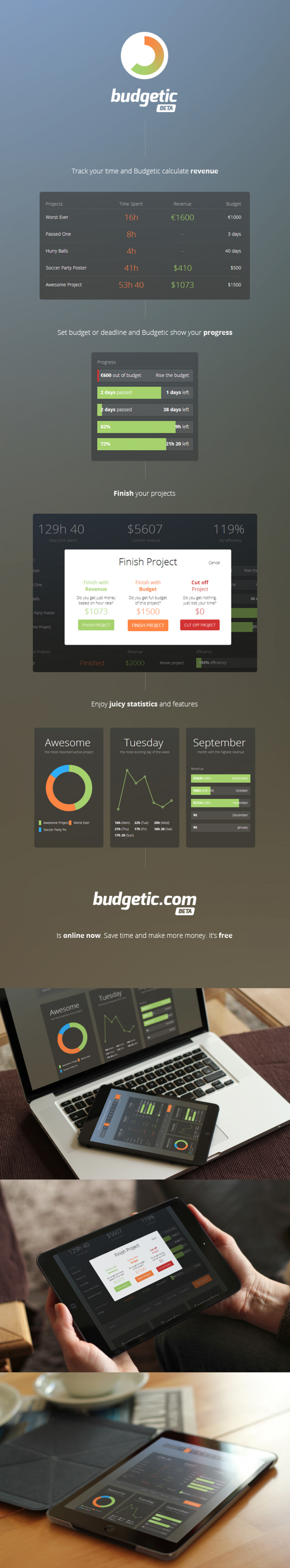 Budgetic.com is here to help Infographic