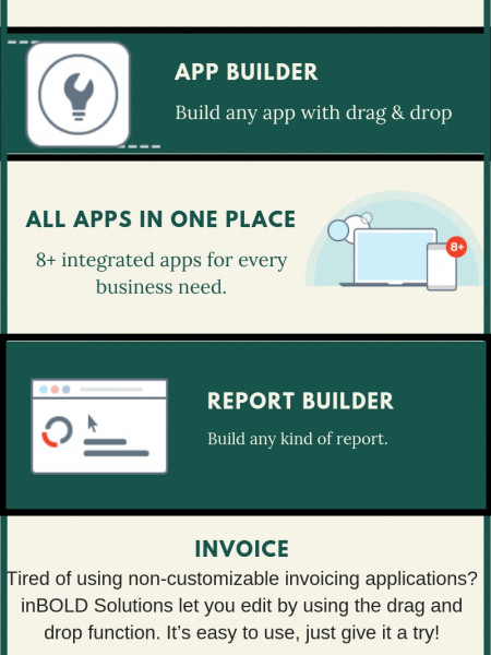 Build Database Applications In Minutes With The Help Of inBOLD Solutions! Infographic