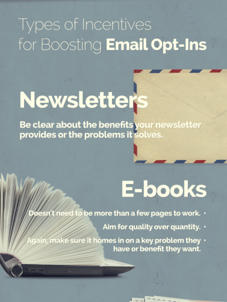 How to Build Your Email List Using Incentives  Infographic