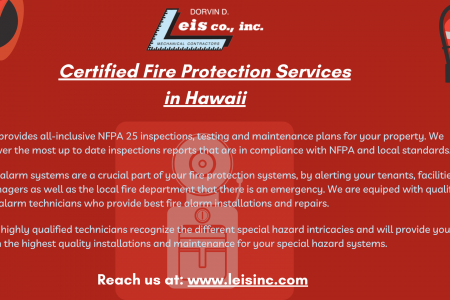 Building a Safer Community with Hawaii's Best Fire Protection Division. Infographic