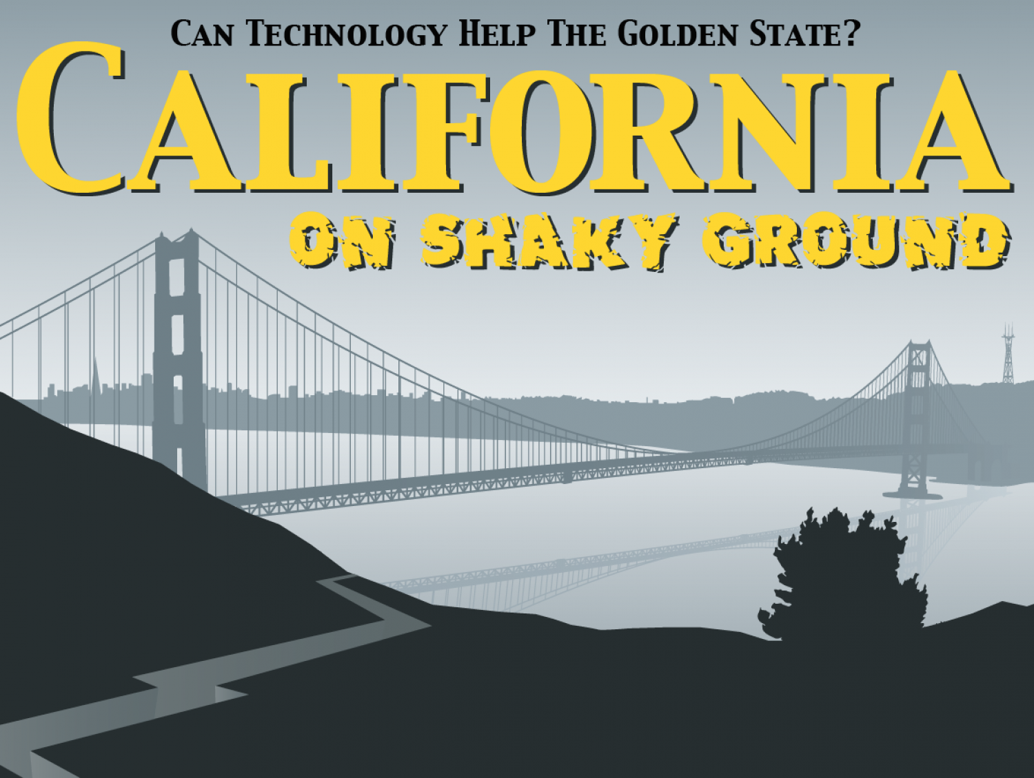 California on Shaky Ground Infographic