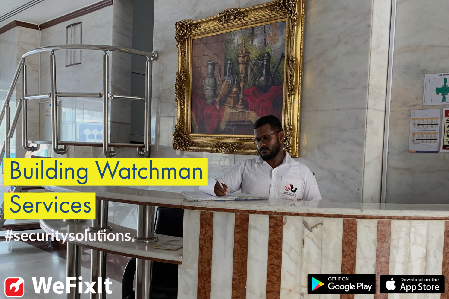 Building Watchman Services Infographic