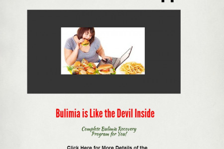 Bulimia Support & Recovery Program Infographic