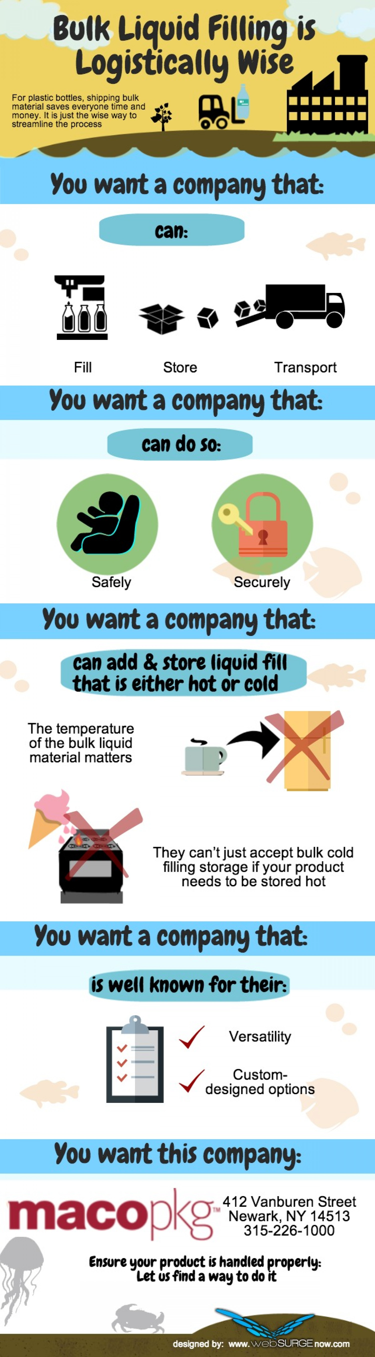 Bulk Liquid Filling is Logistically Wise Infographic