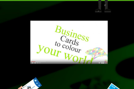Business Card Printing Online Melbourne Infographic