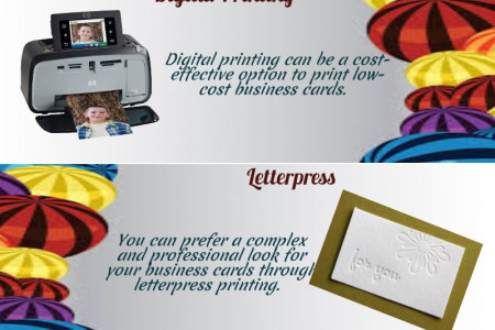 Business Cards Printing Facts Infographic