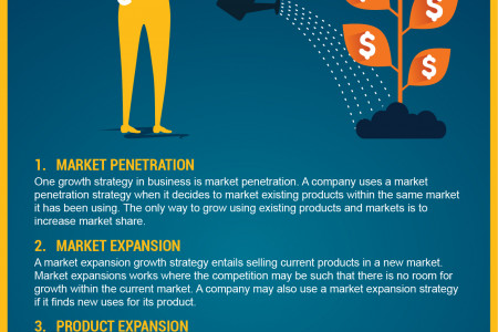 Business Growth Strategies Infographic