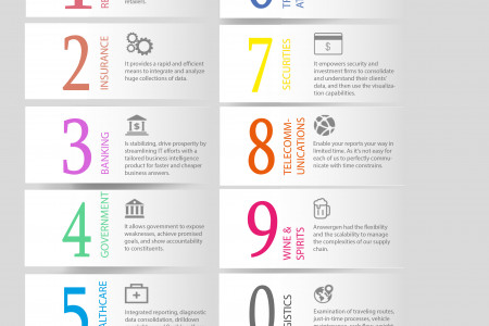 Business Intelligence Solutions– Measure performance and maximize profit Infographic