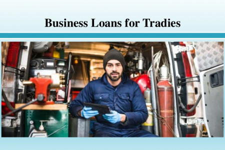 Business Loans for Tradies Infographic