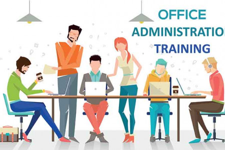 Business Office Administration CA Infographic