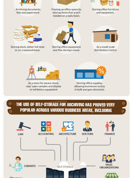 Business Storage Infographic