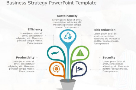 Business Strategy PowerPoint Template 32 Infographic
