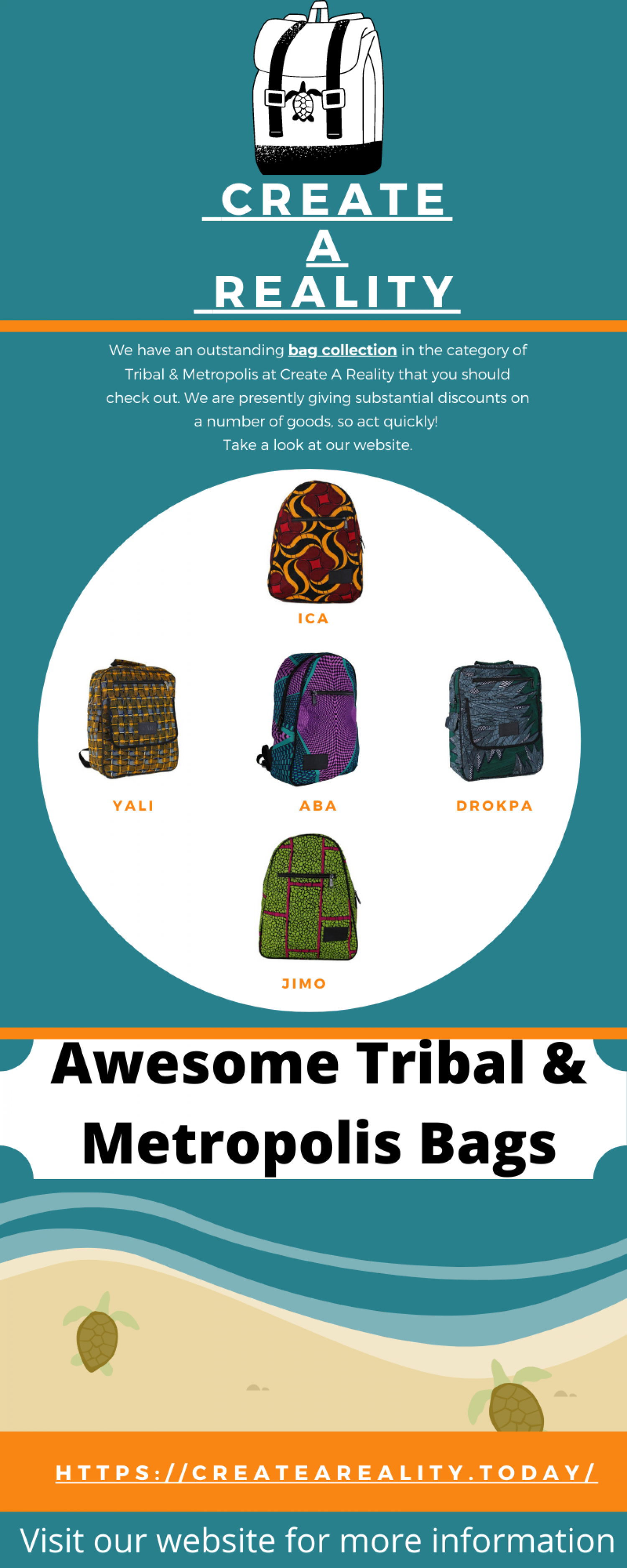 Buy Affordable Bags From Bag Collection     Create A Reality  Infographic