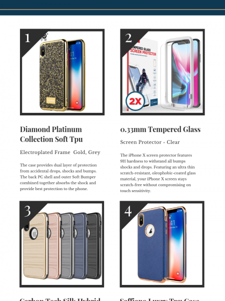 Buy Apple iPhone Xs Cases & Accessories Infographic