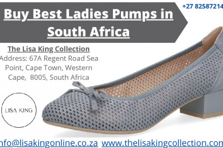 Buy Best Ladies Pumps in South Africa Infographic