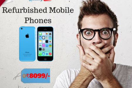 Buy Cheapest Refurbished mobile phones under your budget Infographic