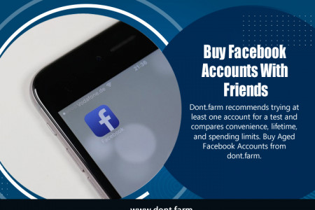 Buy Facebook Accounts With Friends Infographic