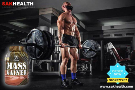 Buy Gold Performance Mass Gainer Chocolate Online in India - Sakhealth Infographic