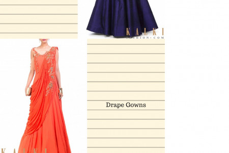 Buy Gowns Online  From KalkiFashion Infographic
