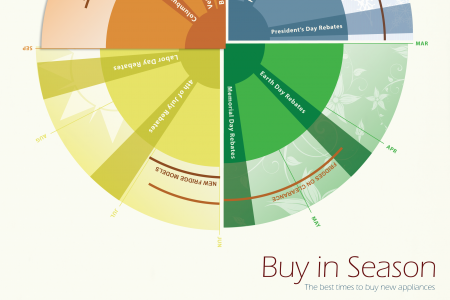Buy in Season: The Best Times to Buy New Appliances  Infographic