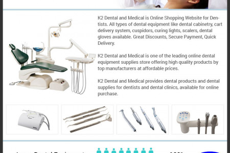 Buy Medical Dental Equipment & Supplies Online Store Infographic