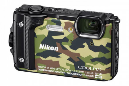 Buy Nikon Coolpix W300 Camouflage In Canada Infographic